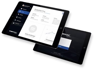 orgaMAX Mobile App